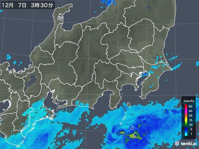 きのうの水戸に続き 横浜でも初雪