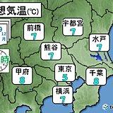 関東 積雪のおそれなくなるも・手放さないで!