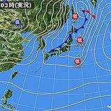 18日 太平洋側は気温アップ 20度超えも