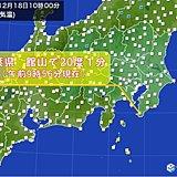 関東 季節はずれの暖かさ 千葉では昼前に20度超え