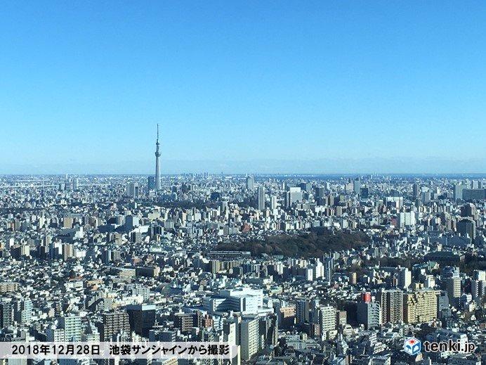 今年の東京の冬は何かが違う?