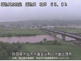 秋田など東北北部で記録的大雨