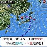 北海道 大荒れ前に対策を