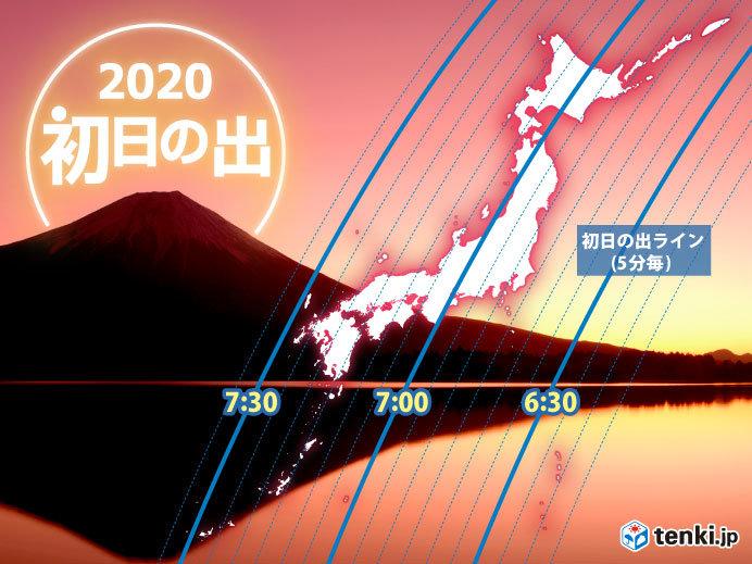 元日・2日 日本海側は雪 太平洋側は冬晴れ