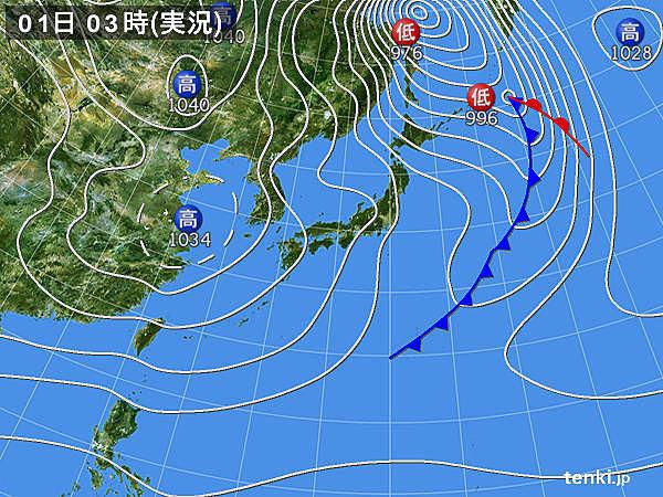 北海道・東北 猛吹雪や暴風が続く