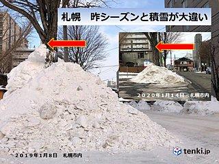 北海道 少雪は続く? ドカ雪はくる?