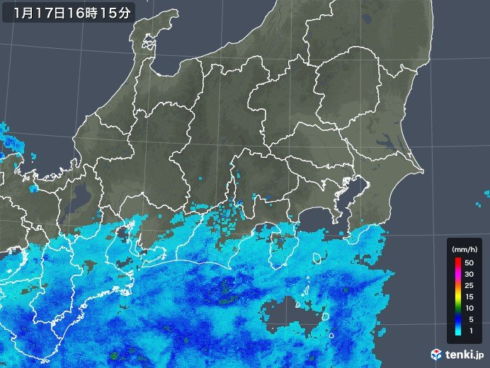関東 千葉県の一部で雨雲かかる お帰り時間は東京も