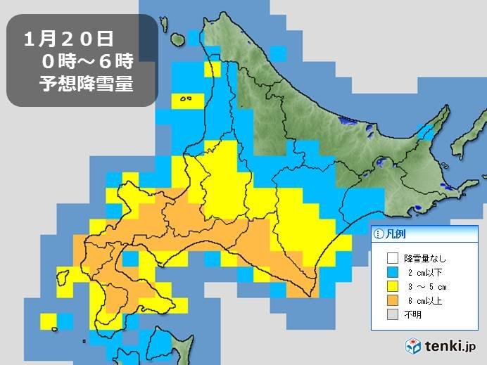 北海道 明日は一気に積雪が倍以上に?