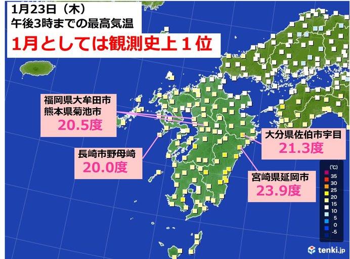 大牟田 の 天気
