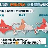 北海道の1か月 少雪傾向は続く?