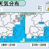関東甲信 都内など平地も積雪 明朝の交通に影響か