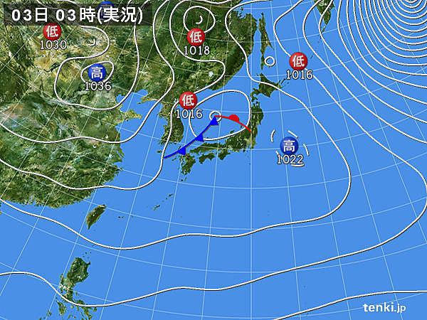 日本海側を中心に 落雷や突風注意