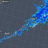 石垣島で1時間37.5ミリの雨 本島も激しい雨注意