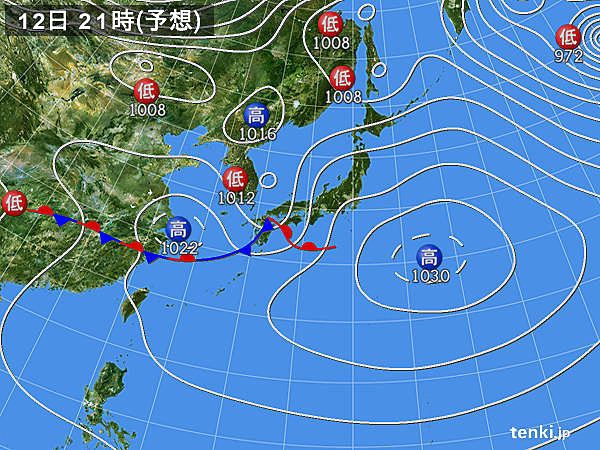 九州や四国 局地的に激しい雨や雷雨
