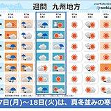 九州 春本番から真冬の寒さへ 大雪のおそれも