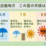 近畿 今年の夏も暑くなりそう