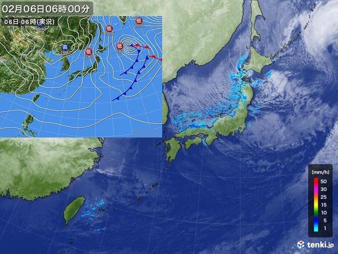 太平洋側で遅い初雪  東京都心と神戸で統計開始以来最も遅い初氷