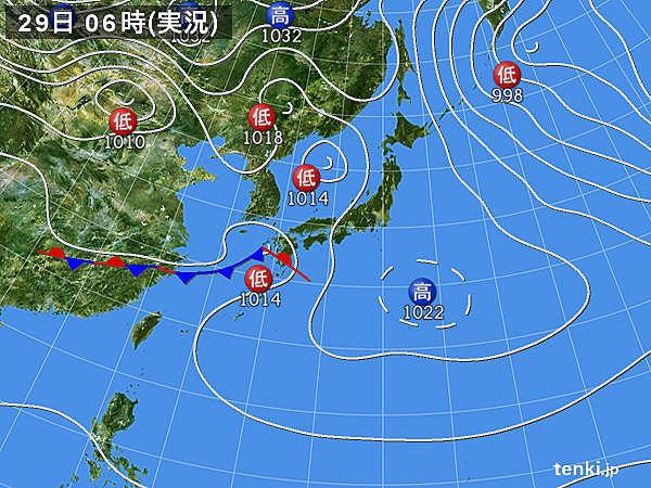 九州で24時間に100ミリを超える雨 雨雲は東へ_画像
