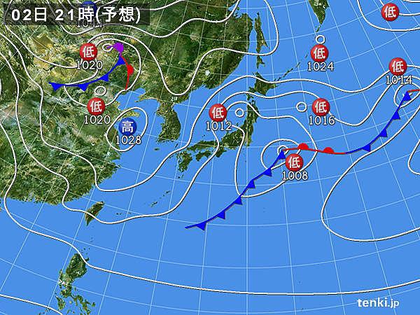 午後は変わって日本海側で天気崩れる