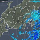 関東は冷たい雨 いつまで降る?