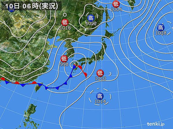 西日本で3月としては記録的な雨の所も