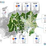 週末 真冬並み寒気で寒の戻り 関東の山や西日本も雪