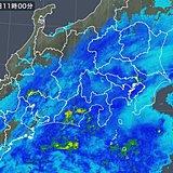 関東甲信 夕方まで雨や雪 山沿い中心に積雪注意