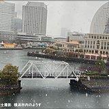 桜開花の東京都心など関東で広く雪 雪積もる?