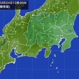 関東甲信の山沿いで一時積雪増 路面凍結にも注意