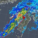 九州 局地的に非常に激しい雨 土砂災害に警戒