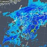 九州や中国地方に雨雲 雨や雪の範囲は東へ