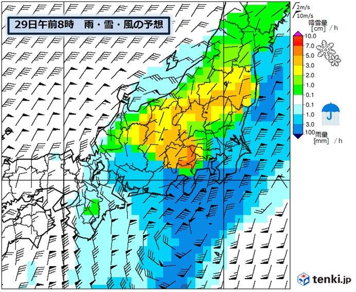 関東甲信の雪の見通し 東京23区など平野部も積雪か