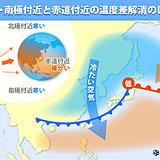 最近低気圧多い? 暖冬の影響か? 原因を徹底解説!