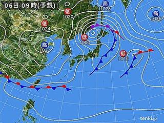 関東 土曜から日曜 気温急降下 その差は5度以上に