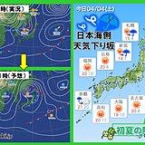 全国的に気温高い 東京は23度くらいに