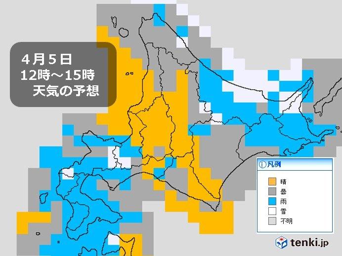 北海道 一部で雪に 峠は積雪も