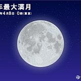 今年最大 スーパームーン お家から満月を眺めよう!