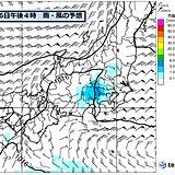 関東周辺 明日は急な雨 土曜は大雨の恐れ 荒天ピークは