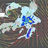 18日 東海、関東、東北は大雨の恐れ 暴風も吹き大荒れ