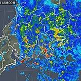 神奈川県で避難判断水位超えの川も 関東に大雨や洪水警報発表中