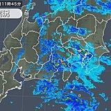 局地的に雨雲発達 午後も強い雨や土砂災害に注意