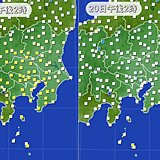 季節3か月逆戻り 関東で大幅気温ダウン