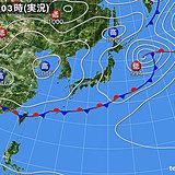 1日 広く晴れ 関東以西は暑さが戻る