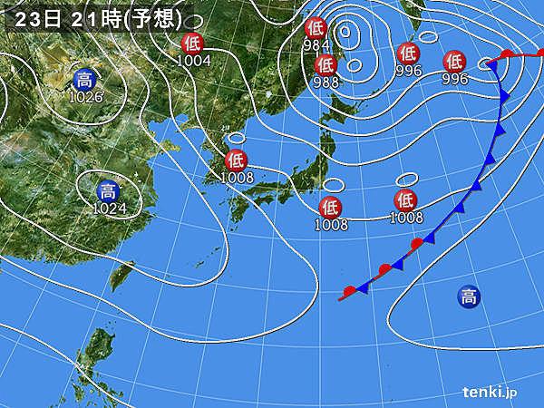 日本海側は雨や雪 関東でも急な雨や雷雨注意
