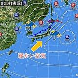 雨雲南下 晴れる太平洋側も急な雨に注意 気になる気温