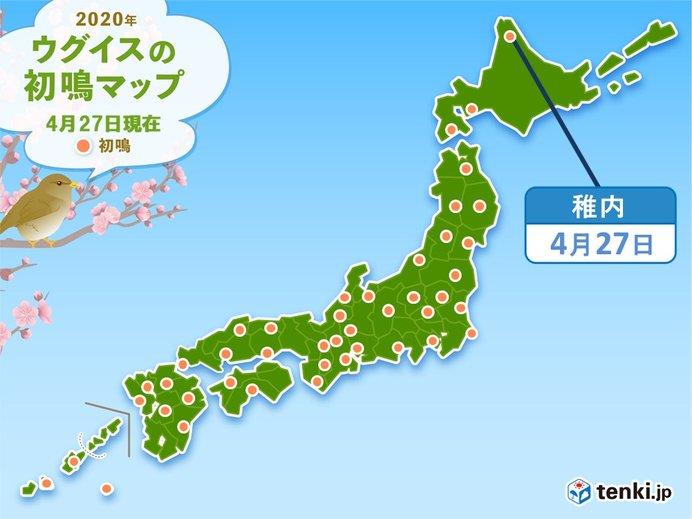 北海道の道北にも春の声 窓を開けて耳を澄ましてみて