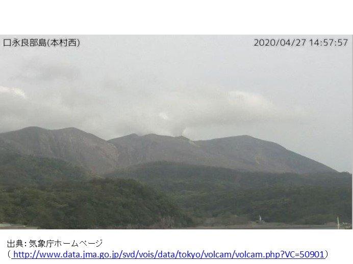 口永良部島 2015年に匹敵する火山活動に発展か 警戒レベル3継続