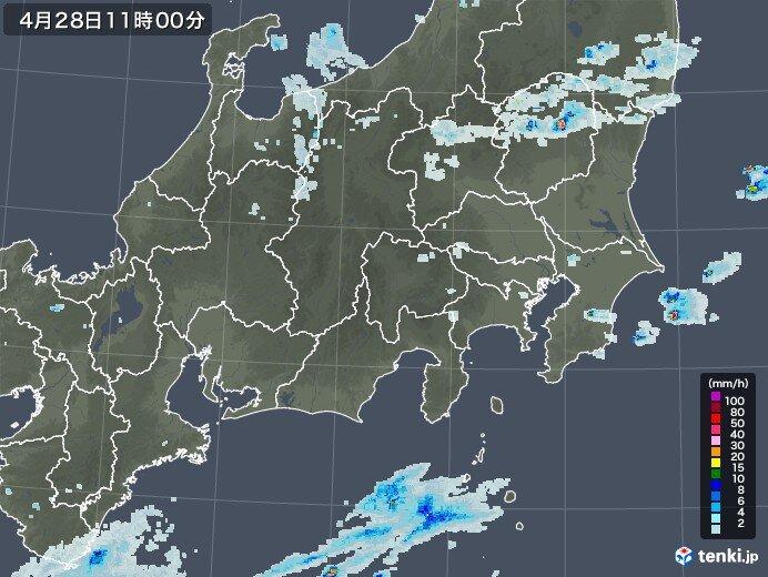 今晴れていても注意 山沿い・沿岸部ではすでに雨雲発生中!