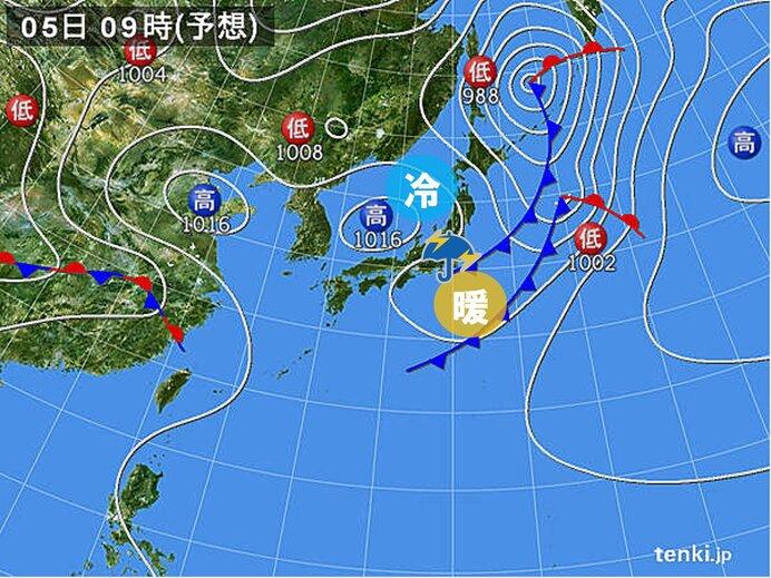 関東や東海 午後はあちらこちらで雨雲