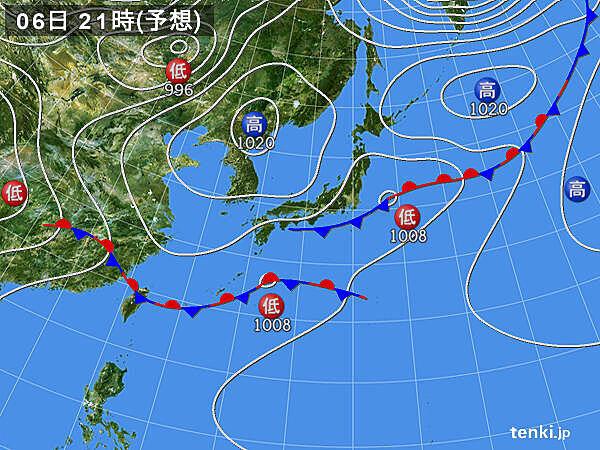 積乱雲発達 沖縄で大雨 3時間で100ミリ超_画像